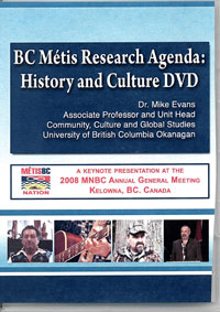BC Métis History and Culture DVD