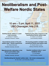 Neoliberalism in Nordic States poster